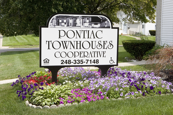 PONTIAC TOWNHOUSES COOPERATIVE