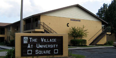 THE VILLAGE AT UNIVERSITY SQUARE